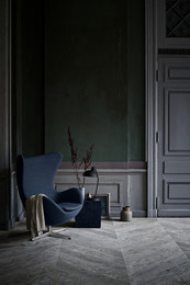 Egg - Fritz Hansen Colours, Blue
