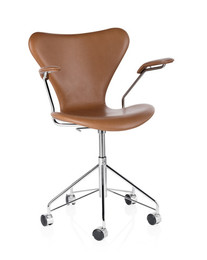 Series 7 - Fully upholstered, walnut leather