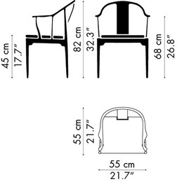 Pictogram - China Chair, 4283
